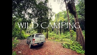 Wild Camping | Sungai Lembing Pahang Malaysia