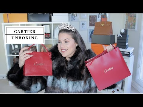 FIRST CARTIER UNBOXING| Jerusha Couture