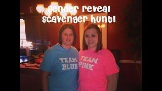 Gender Reveal Scavenger Hunt | BabyCampbell422