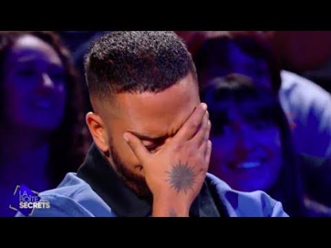 """Slimane pleure car ses proches lui chantent sa chanson """"Les amis"""" - La boite à secrets - La boîte à secrets"""