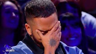 """Slimane pleure car ses proches lui chantent sa chanson """"Les amis"""" - La boite à secrets"""