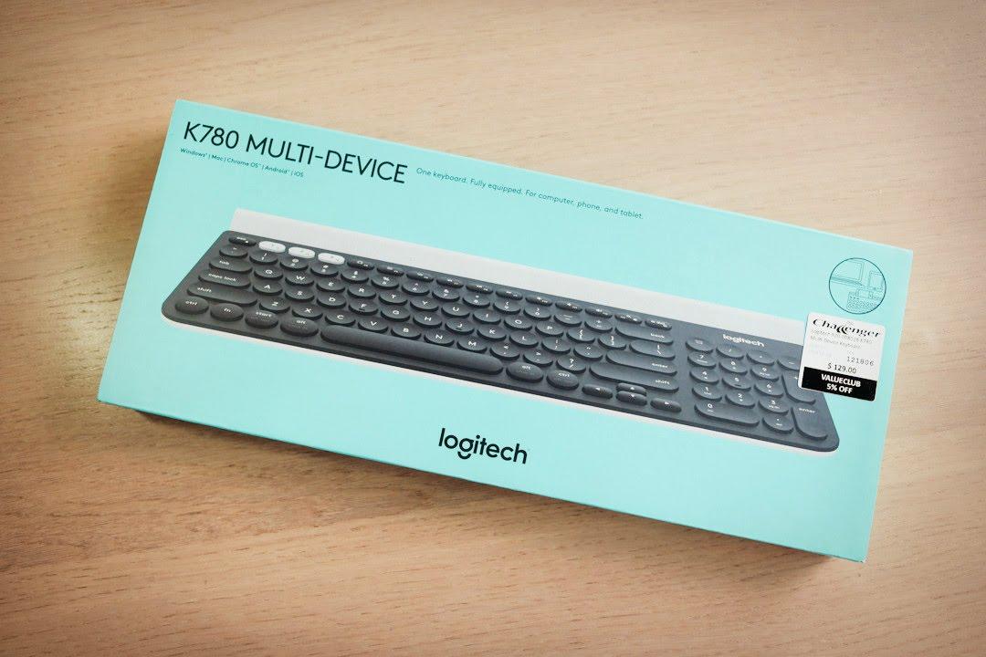 紙開箱 – 羅技 K780 // 跨平臺藍芽鍵盤 - YouTube