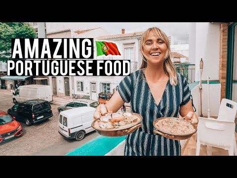 We Tried Portuguese Food | Must Try Local Algarve Dishes