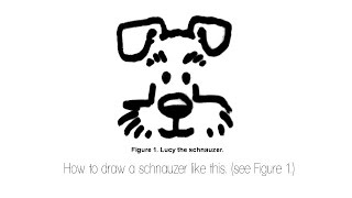 How To Draw A Schnauzer Like This. (see Thumbnail)