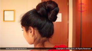 Punjabi Traditional High Juda | DIY Punjabi Juda Hairstyle For Beginners | Perfect High Hair Bun