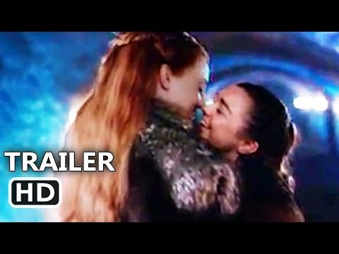 GAME OF THRONES : Arya and Sansa KISS ? (Behind the Scenes / Bloopers)