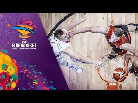 Latvia v Belgium - Full Game - FIBA EuroBasket 2017