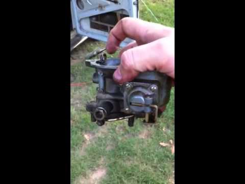 1969 VW Type 1 carburetor removal for rebuild (Part 1 of 2)