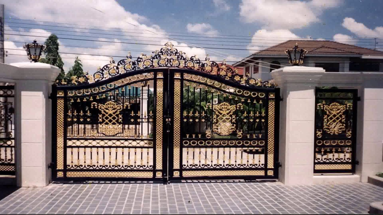 Modern house gate designs philippines youtube for Modern house gate designs philippines
