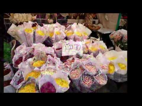 Flower Narket  - Pak Klong Talat Thailand