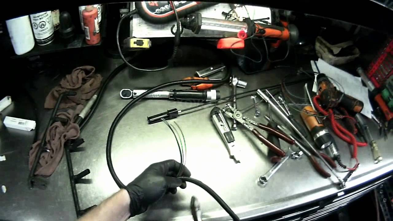 vw a4 bew brm glow plug harness installing  [ 1280 x 720 Pixel ]