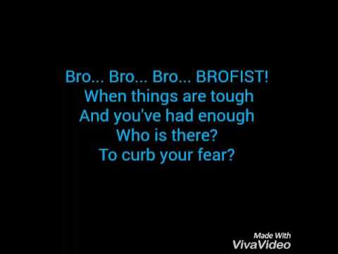 Brofist by Roomie and Pewdiepie lyrics