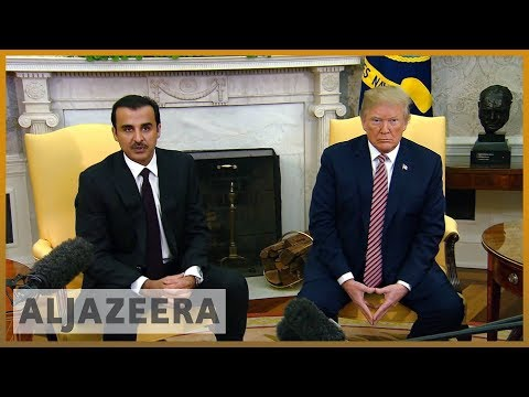 🇺🇸 🇶🇦 Trump: US-Qatar ties 'work extremely well' | Al Jazeera English