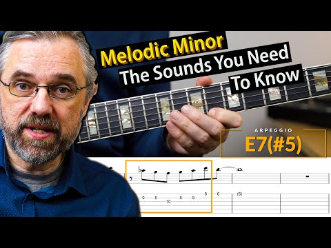 The Most Important Melodic Minor Modes In One Song