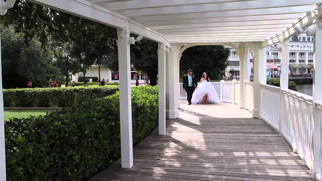 Disney Wedding Videography