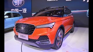 THE FAW BESTURN X4 SUV CONCEPT AND BODY SPORTY DEBUTS ON THE BEIJING AUTO SHOW