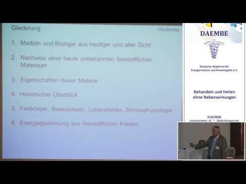 0 - Dr. rer. nat. Klaus Volkamer: Die lebendige Feinstofflichkeit - ein neues Weltbild für Medizin und Physik