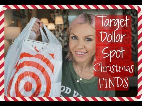 Target Dollar Spot CHRISTMAS Haul| Farmhouse Style Christmas Decor| Megan Navarro