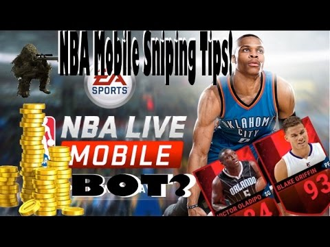 NBA Live Mobile Bot NO JAIlBREAK REQUIRED! Money Making Tips!