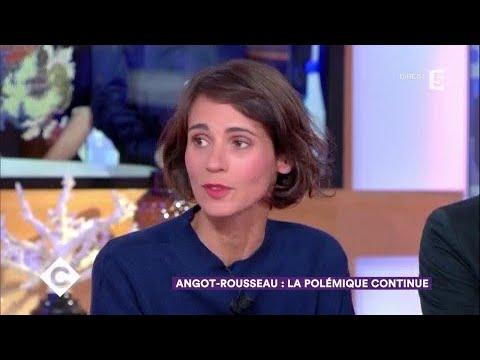 Angot - Rousseau : la polémique continue - C à Vous - 03/10/2017