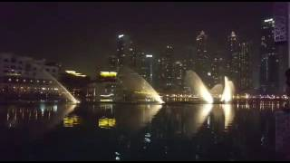 [Dubai Fountain] Whitney Houston - i will always love you