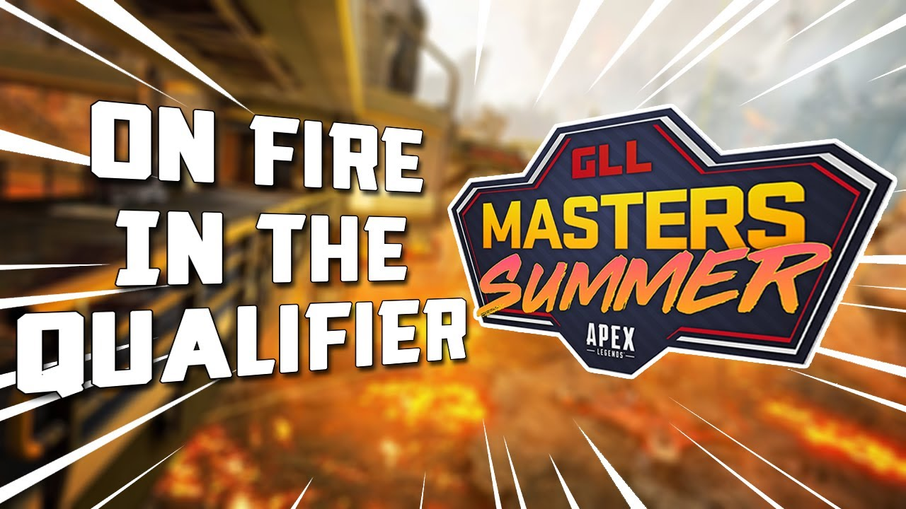 ON FIRE IN THE QUALIFIER | Apex Legends Ranked