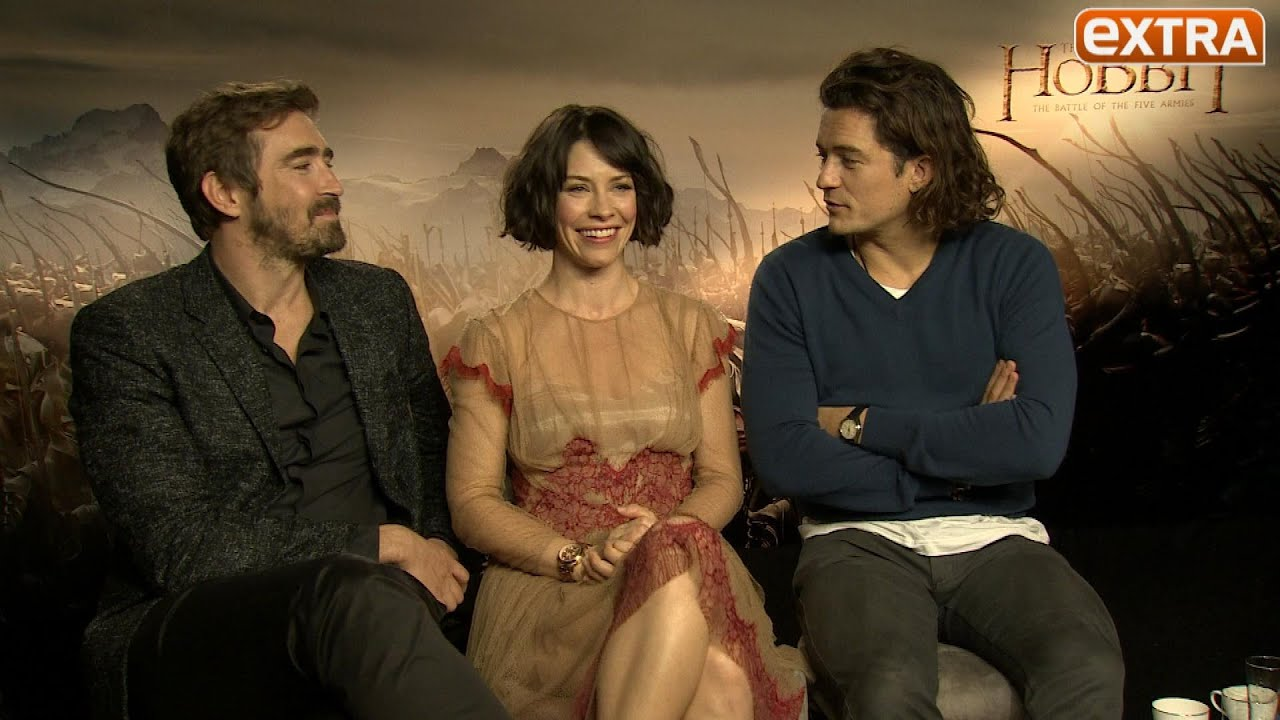 The Hobbit S Elves Talk Dragons Tattoos And Sexually Suggestive Horse Riding Outtakes Youtube