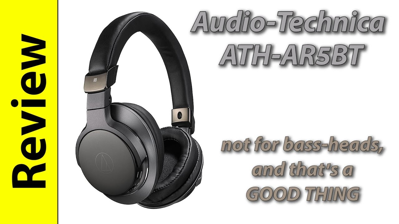 Audio Technica Ath Ar5bt Finally A More Neutral Bluetooth Headphone By The Nitpicker