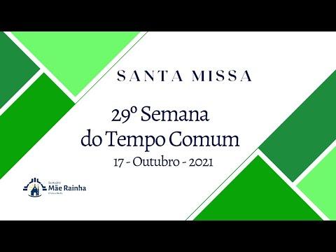 Santa Missa 29º Domingo do Tempo Comum