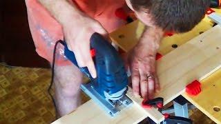 Как ровно отрезать лобзиком? Лобзик электрический(В этом видео вы узнаете, как ровно отрезать лобзиком? Лобзик электрический., 2014-05-24T08:58:13.000Z)