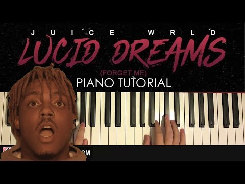 HOW TO PLAY - Juice Wrld - Lucid Dreams (Piano Tutorial Lesson)