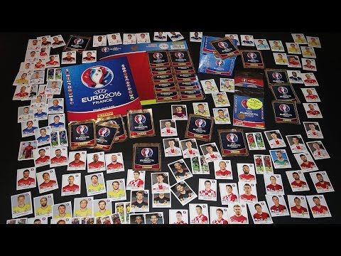 Panini Big Sticker Unboxing over 300 new stickers in new PANINI Stickeralbum 2016