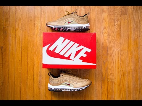 'dad'-shoes-are-in-again?-||-nike-air-max-97-og-metallic-gold-review-and-on-feet