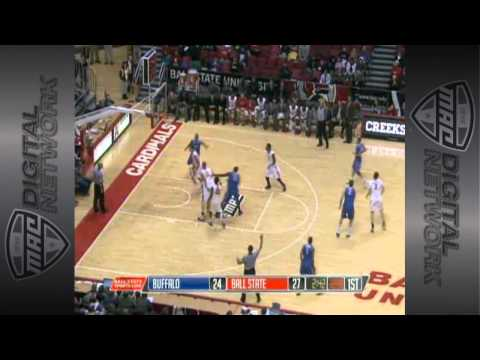 01/23/2013 Buffalo vs Ball State Men's Basketball Highlights
