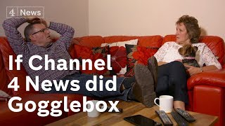 Divided Brexit couple respond live to political turmoil