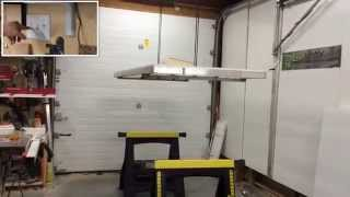 Do You Store Your Workbench On The Ceiling Too?