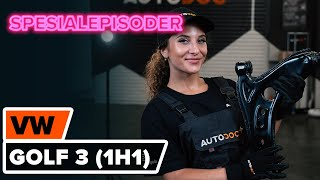 Hvordan skifte Bærebru på VW GOLF III (1H1) - videoguide