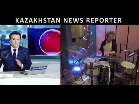 Kazakhstan News Reporter drumsynced!