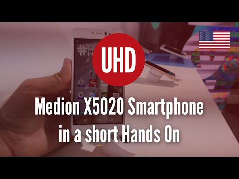 Medion X5020 Smartphone in a short Hands On [4K UHD]