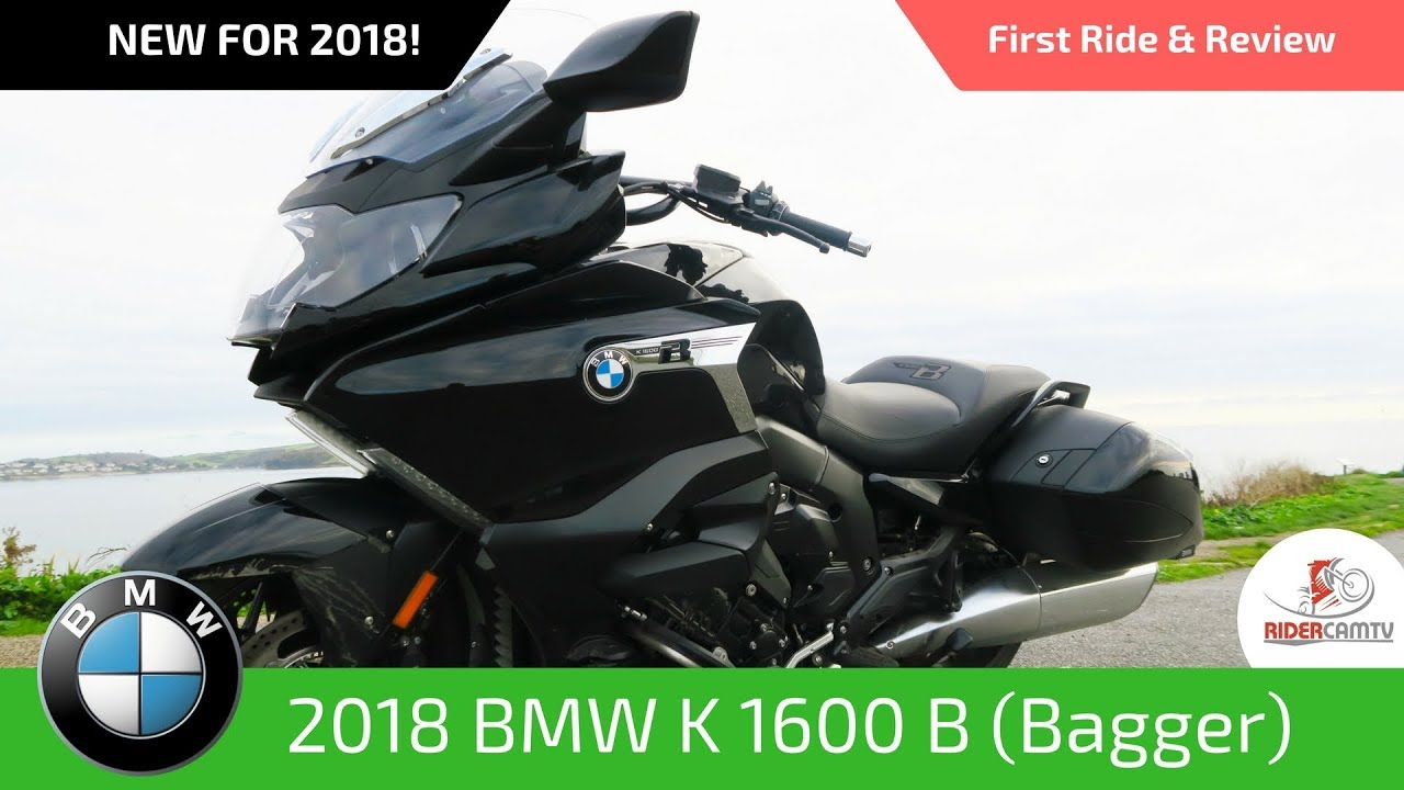 2018 bmw k 1600 bagger our first ride and review youtube. Black Bedroom Furniture Sets. Home Design Ideas
