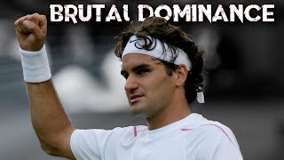 The Most Fearsome Version Of Roger Federer At Wimbledon