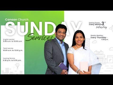 Canaan Church Sunday Tamil Service   04-03-2018
