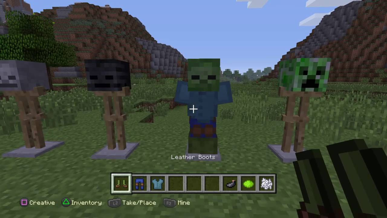 How to make cool combat dummies minecraft ps4 edition youtube how to make cool combat dummies minecraft ps4 edition ccuart Image collections