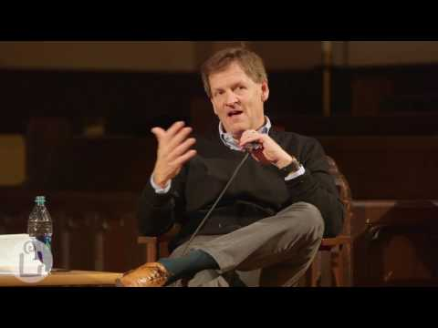 Michael Lewis Author Event, The University Book Store