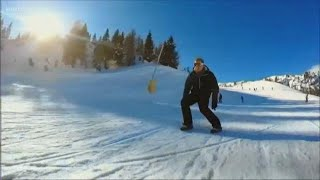 Snow Feet: Slick new winter sport from Czech Republic