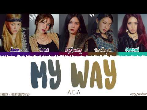 AOA (에이오에이) - 'MY WAY' Lyrics [Color Coded_Han_Rom_Eng]