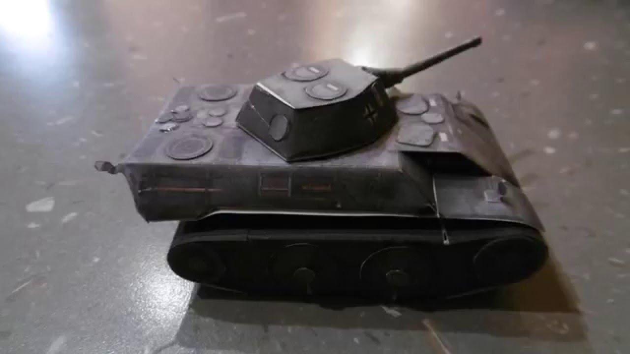 origami panzer leopard aus papier bauen world of tanks. Black Bedroom Furniture Sets. Home Design Ideas