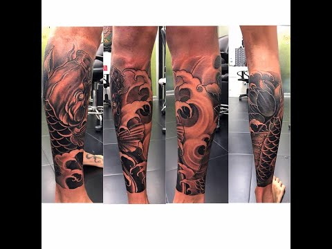 Koi Fish Tattoo Cover Up By Rucky. Seed Tattoo