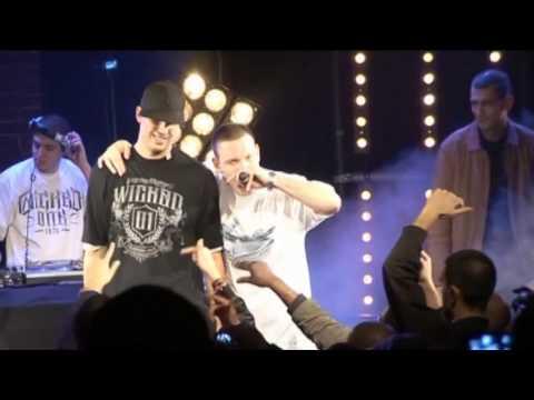 Youtube: Flynt – J'éclaire ma ville (live à la Maroquinerie le 18-01-2008)