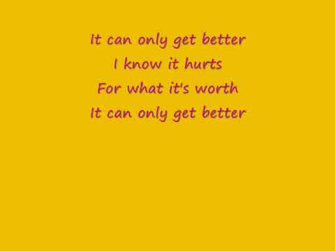 amy diamond - it can only get better lyric
